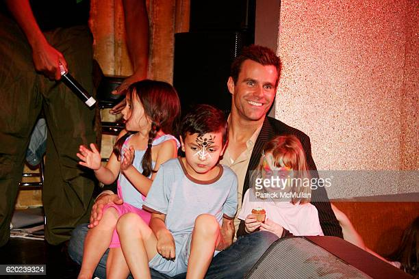 Guest Lucas Arthur Mathison Cameron Mathison and Guest attend A CELEBRATION OF CHILDREN National Love Our Children Day at Spotlight Live on April 5...