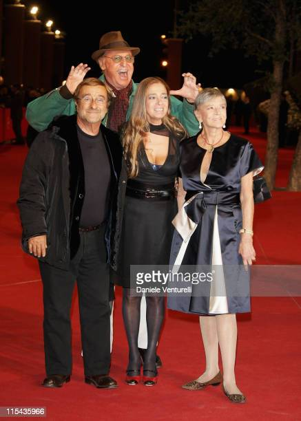 Guest Lucio Dalla Diana and Iliana de Curtis attend the 'Un Principe Chiamato Toto' premiere during Day 6 of the 2nd Rome Film Festival on October 23...