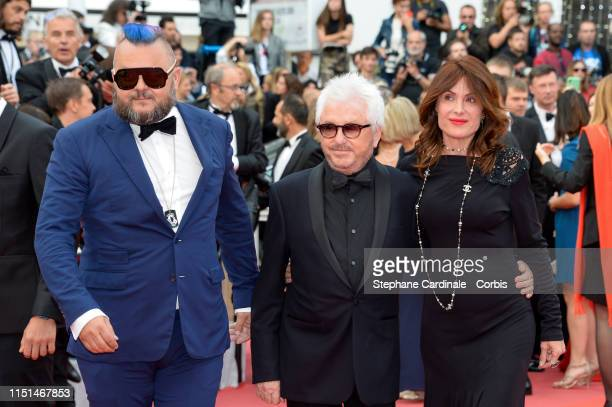 guest Marc Cerrone and Jill Cerrone attend the screening of Sibyl during the 72nd annual Cannes Film Festival on May 24 2019 in Cannes France