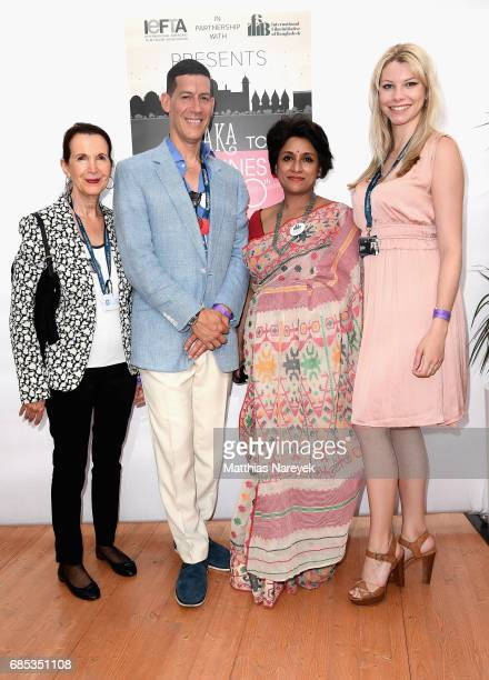 Guest Marco Orsini Samia Zaman and guest attend From Dhaka to Cannes A Celebration of Talent hosted by the International Emerging Film Talent...