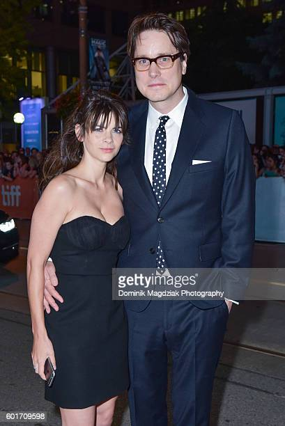 Guest Martha Freud and director Adam Smith attend the 'Trespass Against Us' premiere during the 2016 Toronto International Film Festival at Princess...