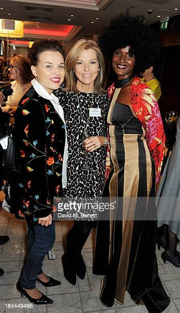 Guest Mary Nightingale and Waris Dirie attend the 58th Women of the Year lunch at the InterContinental Park Lane Hotel on October 14 2013 in London...