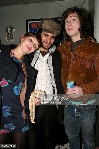 Guest Matt Lucas and guest attend PAPERCUT Inaugural Exhibition to Celebrate the Print Making Process at Heist Gallery on December 13 2008 in New...