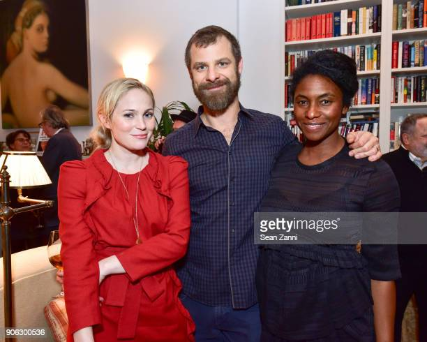 Guest Matt Stone and Angela Stone attend publisher Henry Holt toasts Michael Wolff's 'Fire and Fury' at Private Residence on January 17 2018 in New...