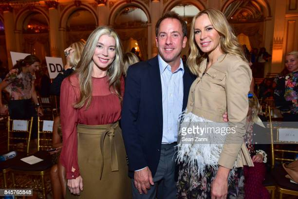 Guest Michael Cominotto and Dee Hilfiger attend the Dennis Basso Spring/Summer 2018 Runway Show during New York Fashion Week at The Plaza Hotel on...