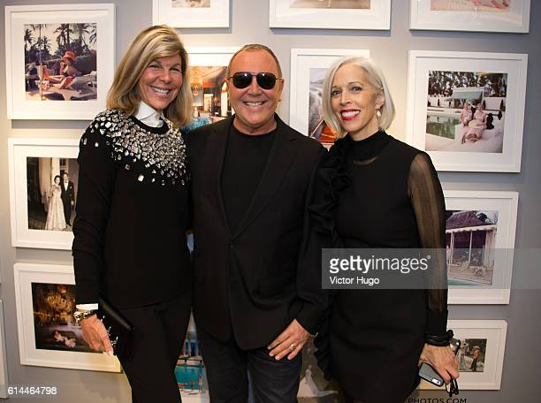 Guest Michael Kors Linda Fargo Celebrate the 35th Anniversary at Bergdorf Goodman and the Release of 'Slim Aarons Women' by Getty Images and Abrams...