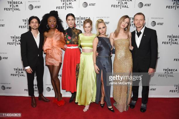 Guest Nana Ghana Tao Okamoto Daisy Bishop Juno Temple Katharine O'Brien and Simon Pegg attend the Lost Transmissions screening during the 2019...