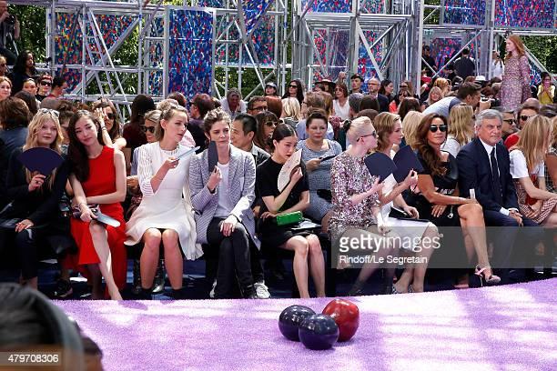 Guest Ni Ni Actress Leelee Sobieski Actress Chiara Mastroianni Actress Yu Aoi Musician Grimes Actress Emily Blunt Katia Toledano and her husband CEO...