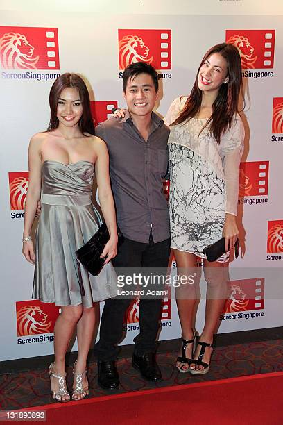 Guest Nicholas Bloodworth Tara Rushton arrives at the gala premiere of 'Where the Road Meets the Sun' during ScreenSingapore 2011 on June 10 2011 in...