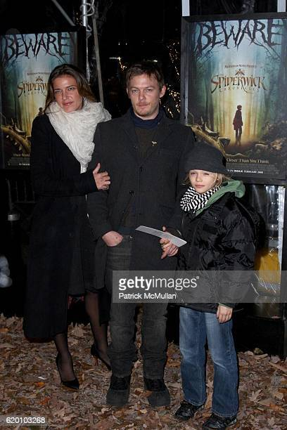 Guest Norman Reedus and Mingus Reedus attend New York Special Screening of PARAMONT PICTURES' and NICKELODEON MOVIES' THE SPIDERWICK CHRONICLES at...