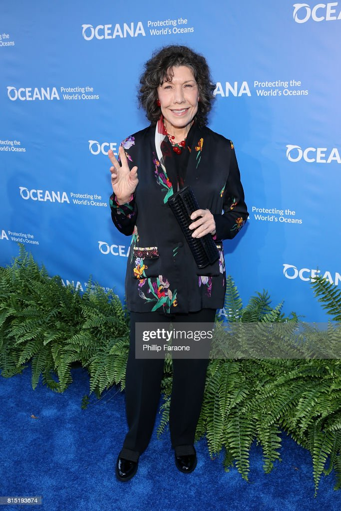 Guest of Honor Lily Tomlin attends the 10th Annual Oceana SeaChange Summer Party at Private Residence on July 15, 2017 in Laguna Beach, California.