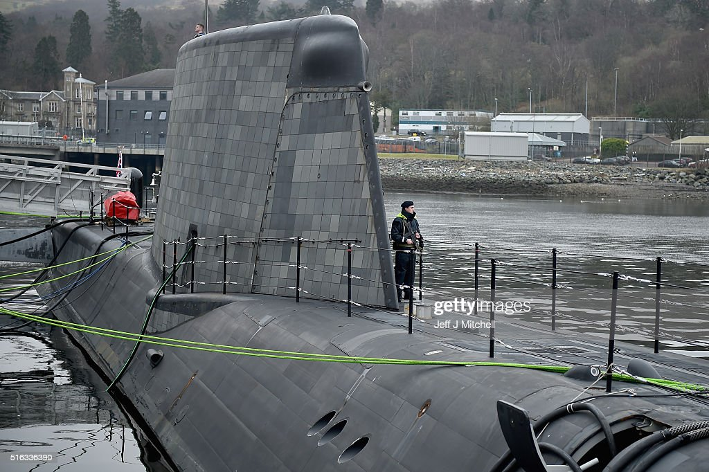 Astute Class Submarine To Be Commissioned Into The Royal Navy : News Photo