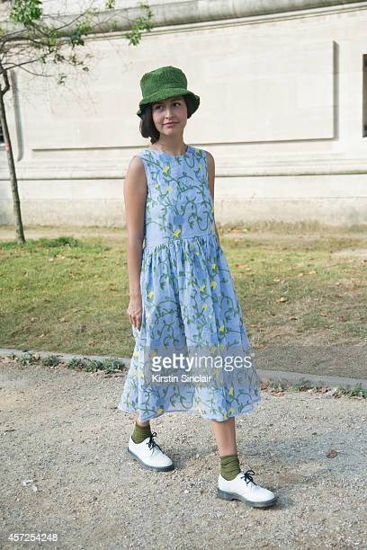 Guest on day 8 of Paris Collections Women on September 30 2014 in Paris France