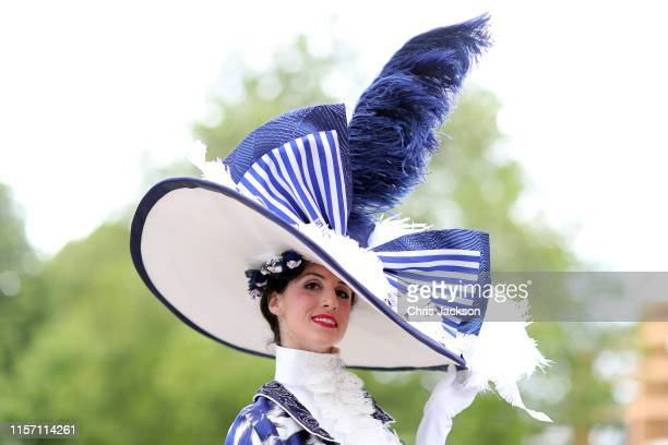 A guest on day three Ladies Day of Royal Ascot at Ascot Racecourse on June 20 2019 in Ascot England