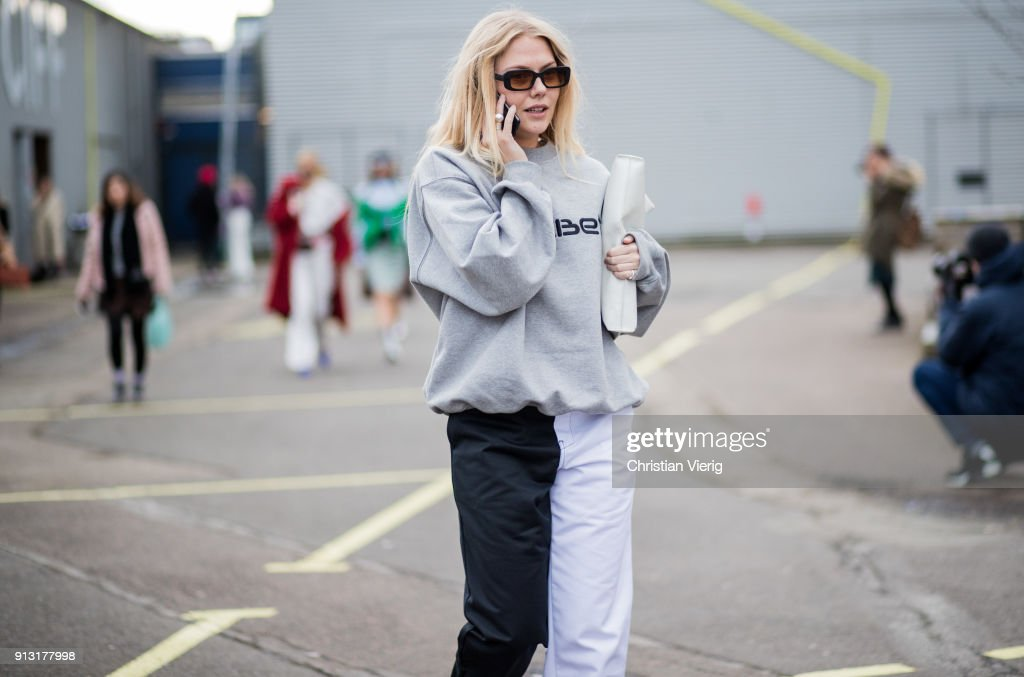 A Guest Outside Designers Remix During The Copenhagen Fashion Week News Photo Getty Images