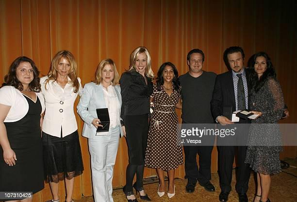 Guest Patricia Arquette Rosanna Arquette Alexis Arquette guest Richmond Arquette David Arquette and Courteney Cox Arquette