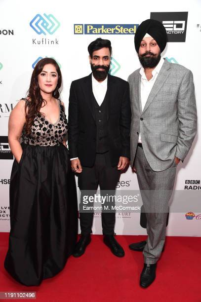 Guest Paul Chowdhry and Tony Shergill attend the Brit Asia TV Music Awards 2019 at SSE Arena Wembley on November 30 2019 in London England