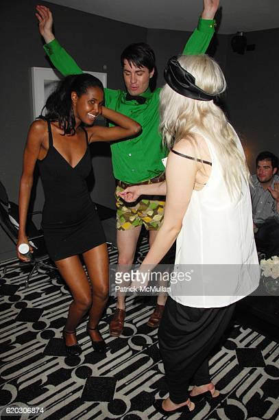Guest Peter Cooney and Ginny Branch attend GONZO post screening party at Night Hotel NYC on June 25 2008 in New York City