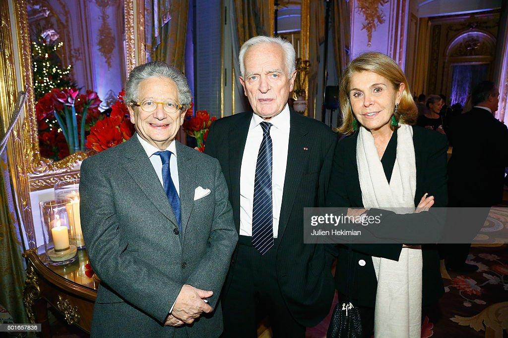 Annual  Dinner Hosted By US Ambassador Jane Hartley At La Residence de l'Ambassadeur In Paris