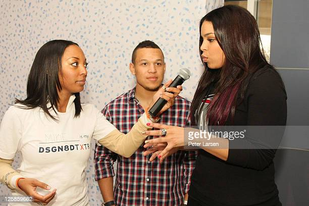 Guest PJ Sparks and Jordin Sparks attendThe 4th Annual Jordin Sparks Super Bowl Experience on February 2 2011 in Arlington Texas