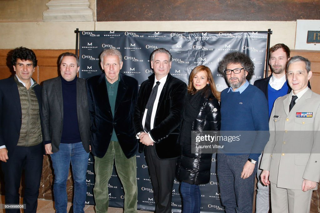 'Opera En Plein Air 2018' : Press Conference At Hotel National Des Invalides In Paris