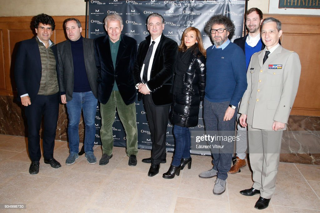 'Opera En Plein Air 2018' : Press Conference At Hotel National Des Invalides In Paris