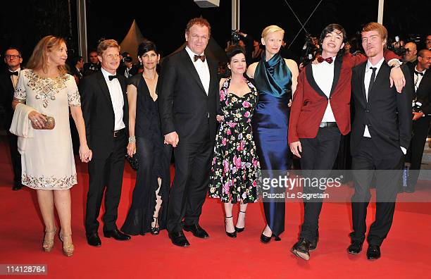 Guest producer Luc Roeg Alison Dickey actor John C Reillydirector/writer Lynne Ramsay actress Tilda Swinton actor Ezra Miller and actor Rory Stewart...