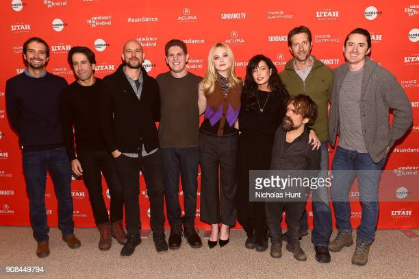 Guest producers Fernando Loureiro and Fred Berger screenwriter Mike Makowsky Elle Fanning director Reed Morano actor Peter Dinklage guest and Brian...