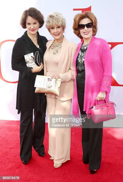 Guest producers Karen Kramer and Kat Kramer attend Paramount Pictures' Premiere of Book Club at the Regency Village Theatre on May 6 2018 in Westwood...