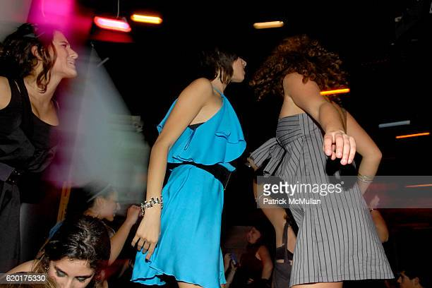 Guest, Remy Geller and Sara Foresi attend Party 4 a Cause at The Ultra on November 8, 2008 in New York City.
