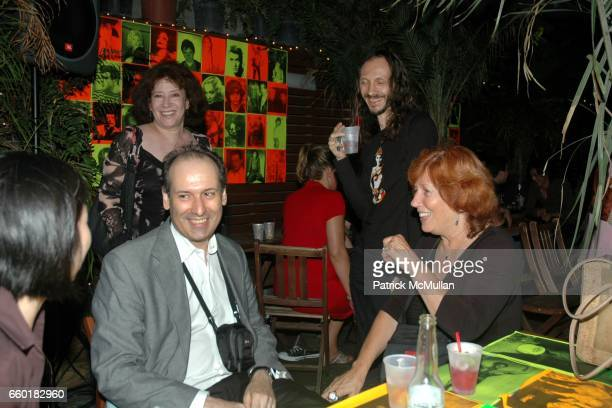Guest Rhonda Markowitz Nicholas Sarubiansky and Yvonne SewellRuskin attend Leee Black Childers 64th Birthday at 168 Delancey on July 24 2009 in New...