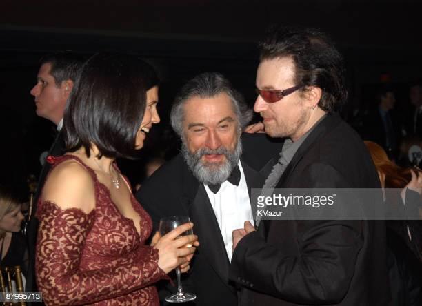 Guest Robert De Niro and Bono