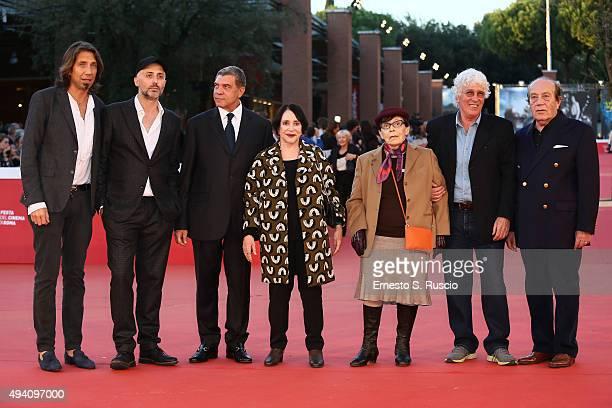 Guest Rocco Talucci Giovanni Cottone Adriana Asti Franca Valeri Ninetto Davoli and guest attend a red carpet for 'StarLight Cinema Award' during the...