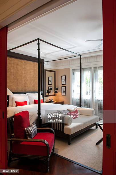A guest room at 137 Pillar House a luxury hotel built around a house once belonging to Louis Leonowens British merchant and son of Anna the school...