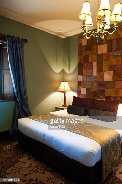 SWANSEA TASMANIA AUSTRALIA A guest room at Craigie Knowe a 1842built stone farm house and vineyard converted into luxury villa accommodation in...