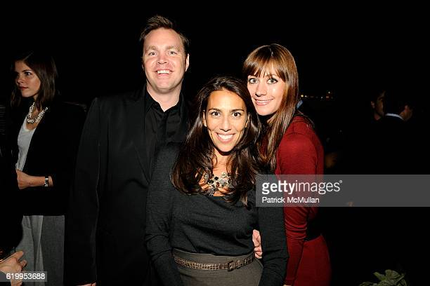 Guest Rory Tahari and Erin Gray attend CFDA New Members Party Hosted by ELIE and RORY TAHARI at The Tahari Residence on October 7 2008 in New York...