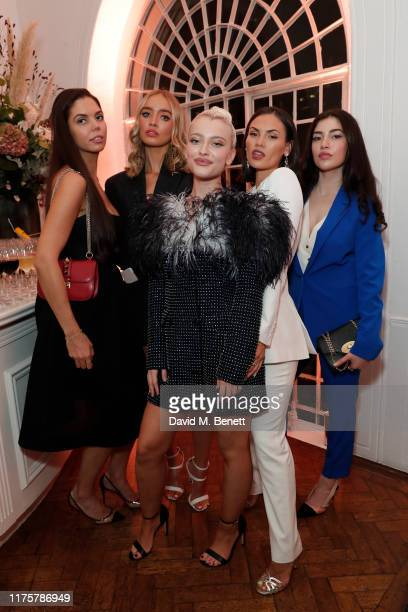 Guest, Roxy Horner, Alice Chater, Sinead Harnett and guest attend the Marie Claire Future Shapers Awards in partnership with Neutrogena at One...
