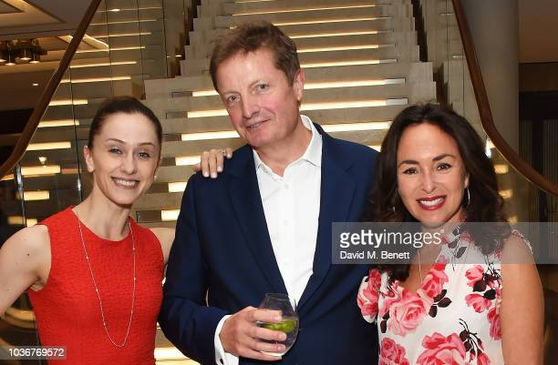 Guest Samantha Spiro and Alex Beard attend the reopening of the Royal Opera House on September 20 2018 in London England