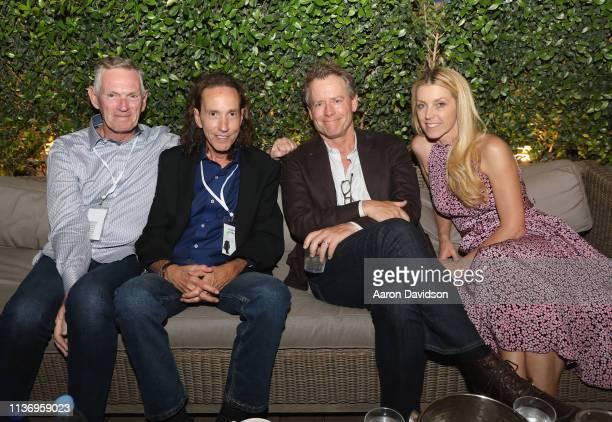 Guest Sandy Stern Greg Kinnear and Helen Labdon attend the 2019 Sarasota Film Festival on April 13 2019 in Sarasota Florida