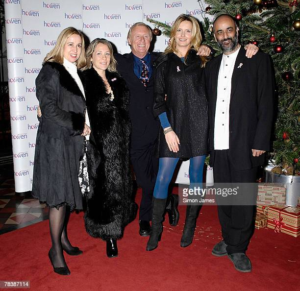 Guest Sarah Beeny Chris Tarrant Penny Lancaster and Art Malik attend the Breast Cancer Haven Charity Carol Service at St Pauls in Knightsbridge on...