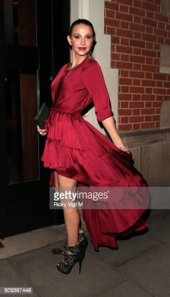 Guest seen attending The Bardou Foundation: International Women's Day Gala at The Hospital Club on March 8, 2018 in London, England.