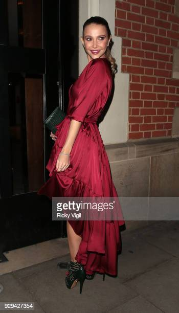 Guest seen attending The Bardou Foundation International Women's Day Gala at The Hospital Club on March 8 2018 in London England