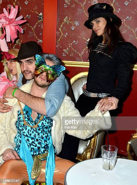A guest Sergio Do Vale and Melissa Mars attend 'Le Nouveau Monde' Fancy Dress Party Hosted By Les Missionaires at Le Dandy on December 21 2012 in...