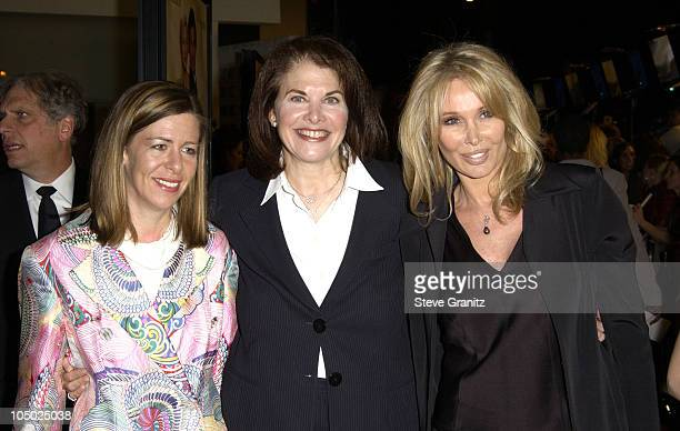 Guest Sherry Lansing Chair Paramount Motion Picture Group and producer Christine ForsythPeters
