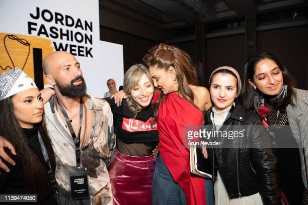Guest Social media content creator Raya Baqween Jordan Fashion Week Stylist and Runway Choreographer Alaa Samman Jordan Fashion Week Stylist Uns...