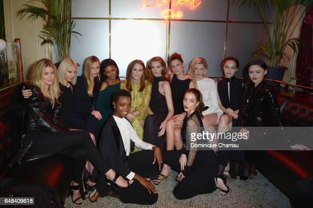 Guest, Soo Joo Park, Liya Kebede, Natasha Poly, Julianne Moore, Alexina Graham, Bianca Balti, Lara Stone, Luma Grothe, Kristina Bazan, Maria Borges...