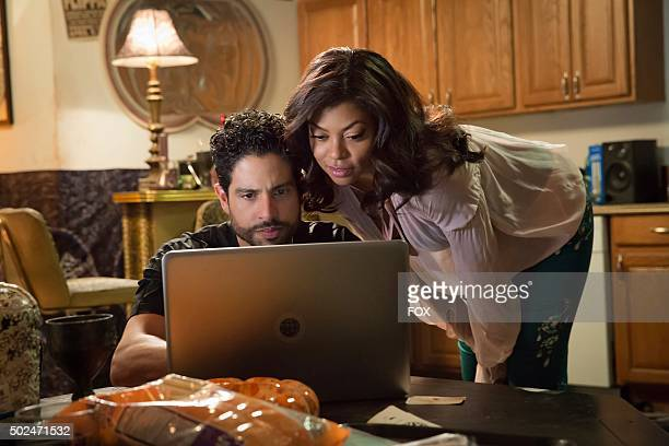 Guest star Adam Rodriguez and Taraji P Henson in the True Love Never episode of EMPIRE airing Wednesday Nov 11 on FOX