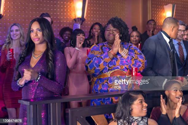"""Guest star Alexandra Grey, Gabourey Sidibe and Terrence Howard in the """"Come Undone"""" episode of EMPIRE airing Tuesday, March 17 on FOX."""
