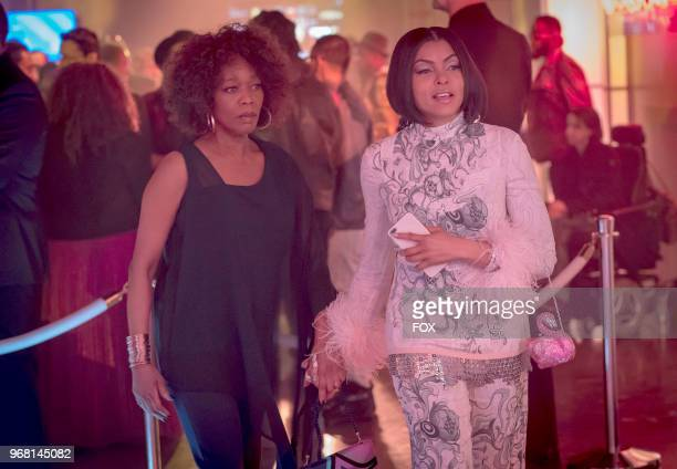 Guest star Alfre Woodard and Taraji P Henson in the 'FAIR TERMS' episode of EMPIRE airing Wednesday May 9 on FOX
