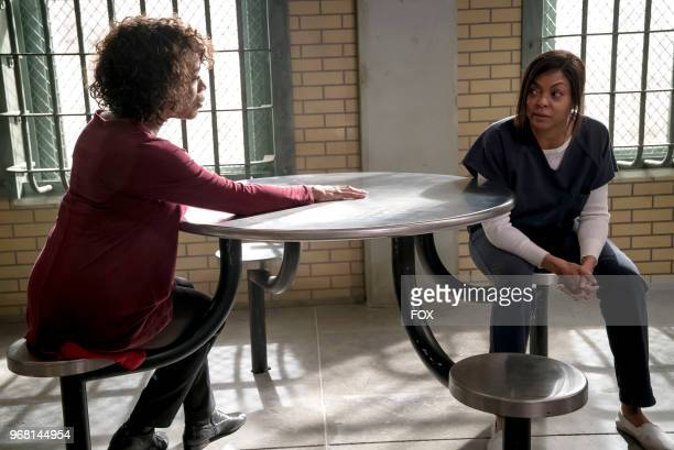 Guest star Alfre Woodard and Taraji P Henson in the 'False Face' episode of EMPIRE airing Wednesday April 25 on FOX